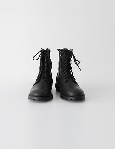 lace-up leather walker boots그랩(GRAB)